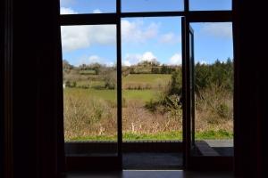View from door